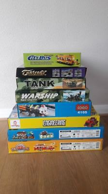 Wholesale Bundle Job Lot Clearance Mixed Stock Toys Blocks Lego Compatible 8 Box