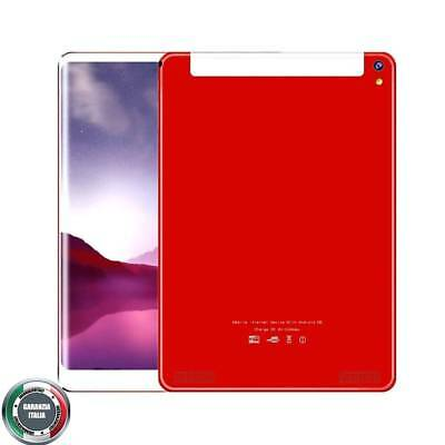 10.1'' 2560*1600 IPS Dual SIM 3G Phone Tablet Android 7,1 octa core 6+64GB Rosso