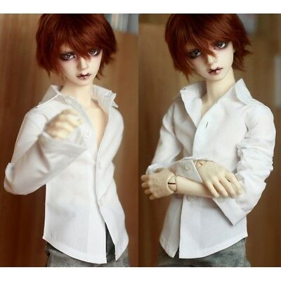 """Black  Prince Shirt Outfit For Male BJD 1//3 24/"""" 60cm SD AOD AS Luts DOD doll"""
