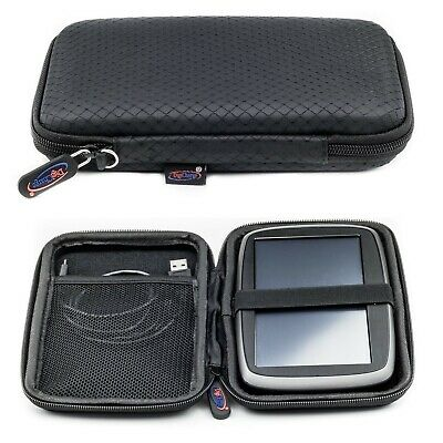 "Slim Hard Carry Case For TomTom Go Basic 6"" Essential Premium 6 Inch Hand Strap"