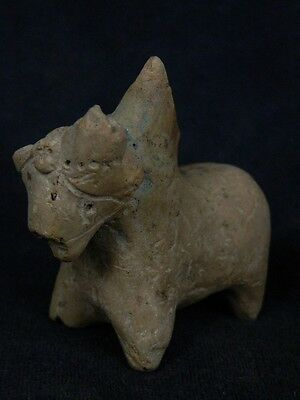 Ancient Indus Valley C.700 BC Teracotta Bull ###TR813###
