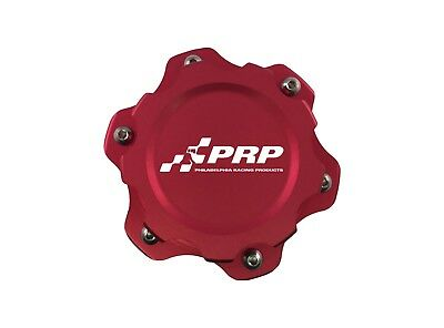 PRP 7611 Fuel Cell Cap w/ Aluminum Bolt on Bung, Red Finish