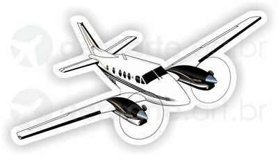 Beechcraft King Air C90 aircraft sticker
