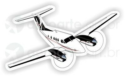 Beechcraft King Air F90 aircraft sticker