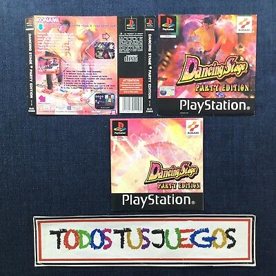 Dancing Stage Party Edition Playstation Play Station Psx Ps1 ( LEER ) 0915