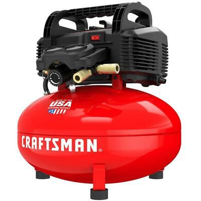 CRAFTSMAN 6-Gallon Portable Electric Pancake Air Compressor MADE IN USA NEW!