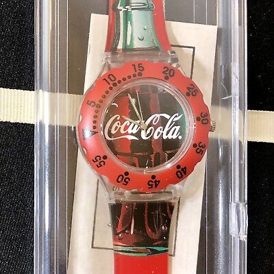Coca Cola Watch Pedre Promotional *Never Used* Vtg