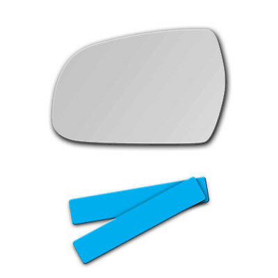 757L New Replacement Mirror Glass 04-07 Audi A8 S8 Quattro Driver Side View Left