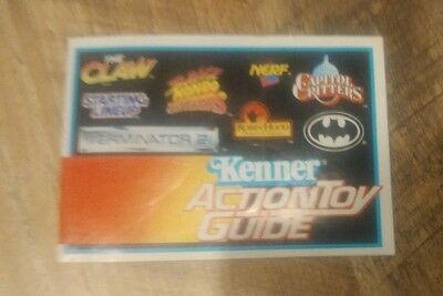Vintage - Two Kenner - ACTION HITS TOY GUIDE Booklet 1992 Batman Terminator 2