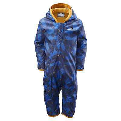NEW Kathmandu Bambino Baby Toddler Full Length Reversible Fleece Jumpsuit v5