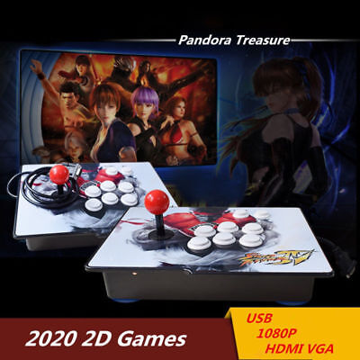 Separable 2020 Games Pandora's Box 6S Arcade Console Retro Video Game 2 Stick
