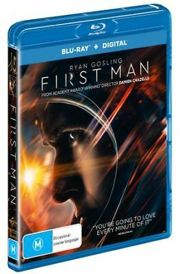 First Man (Blu-ray, 2019) (Region A,B,C) New Release