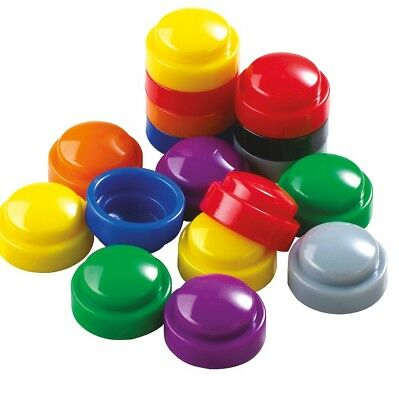 Domed Stacking Counters x 100 Maths Educational Teacher Resource Homeschool