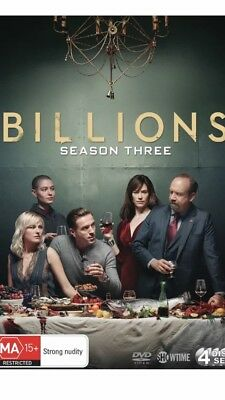 Billions Season 3 DVD Region 4 NEW