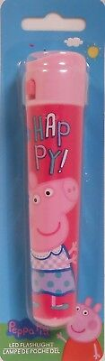 Flashlight PEPPA PIG Pink Children's Toy
