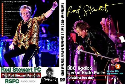 Rod Stewart. Live At Hyde Park. Bbc Radio 2. Dvd.