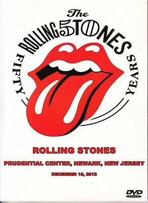 The Rolling Stones. 2012. Prudential Center. Pro-Shot. Digipack Dvd.