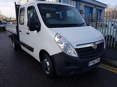 Vauxhall Movano 2.3CDTI ( 125ps ) HD DRW 2015MY L3H1 R3500 double cab tipper