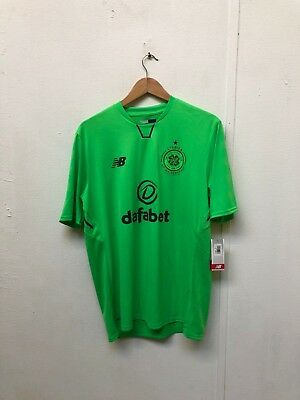 New Balance NB Celtic FC Men's 2017/18 3rd Shirt - Large - Tierney 63 - New