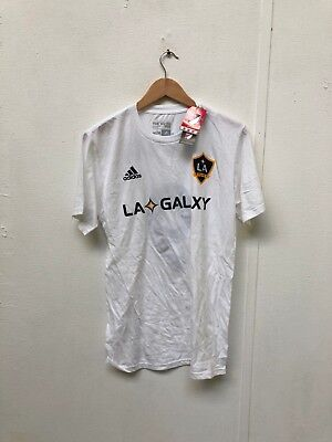 adidas LA Galaxy FC Men's Club T-Shirt - Medium - Ibrahimovic 9 - White - New