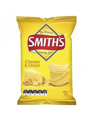 Smiths Cheese and Onion 90g x 18