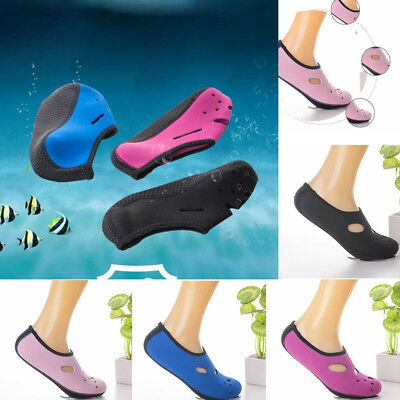 Men Women Kids Water Shoes Aqua Socks Yoga Pool Beach Dance Swim Slip On Surf
