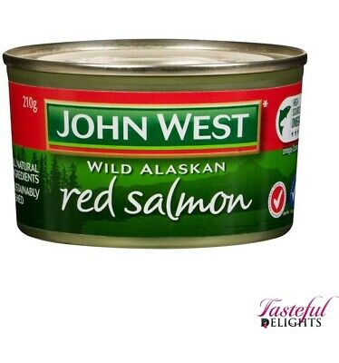 John West Red Salmon 210g