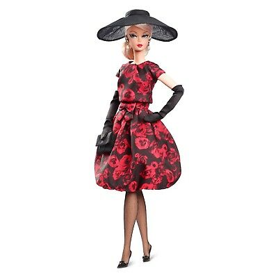 Barbie Collector BFMC Elegant Rose Cocktail Dress Silkstone Doll Mint