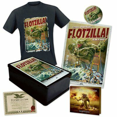 Flotsam And Jetsam -The End Of Chaos (CD Boxset T-shirt SIZE XL Limited Edt.)