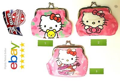 b700265d7 HELLO KITTY Girls Childrens Coin Purse designs party bag filler Lot UK  SELLER