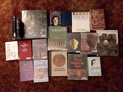 Lot Of 20 History Religious Ancient Civilization Books