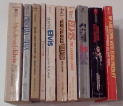 Lot Of 10 Elvis Presley Softcovers #2