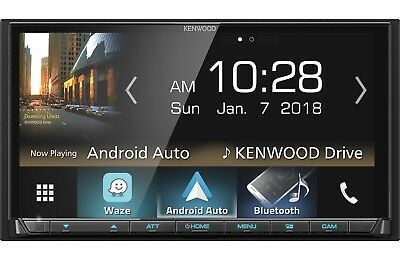 New Kenwood DMX7705S Double 2 DIN Media Player Android iPhone SiriusXM Bluetooth