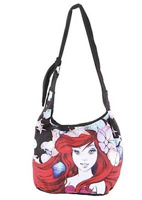 Disney The Little Mermaid Ariel Sketch Hobo Tote Beach Bag New With Tags!