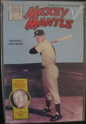 Magnum Comics Mickey Mantle #1