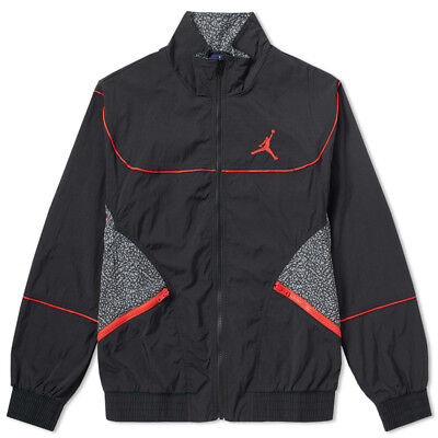 18255380e2d Men's Nike Jordan Retro 3 Woven Vault Jacket Wind Breaker Casual 897410 010