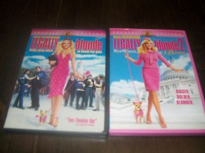 Legally Blonde & Legally Blonde 2 DVD's