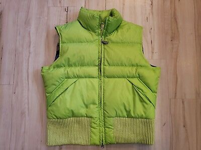 Tommy Hilfiger Big Girls Womens Green Puffer Vests Heavy Weight Autumn Size XL