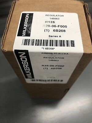 Air Regulator,3/4 In NPT,100 cfm,300 psi WILKERSON R28-06-F000