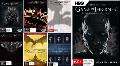 Game Of Thrones 1 - 7 : Complete Series - Season 1 2 3 4 5 6 7 : NEW DVD