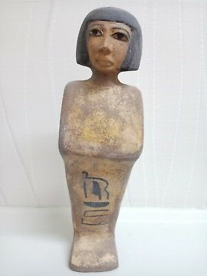 A rare piece of wood for one of the priests of the Temple of Amun of ancient Egy