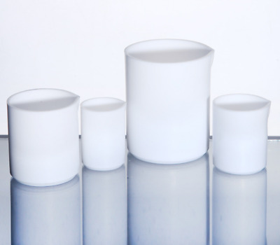 PTFE Teflon Measuring Beaker Cup Labware for Chemistry Biology Lab 30-1000ml  N9