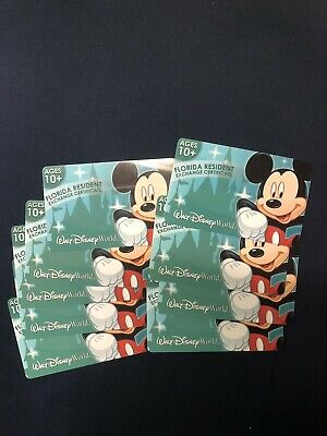 Florida Resident 4 Day Disney Select 1 Park A Day Adult Ticket (10+)