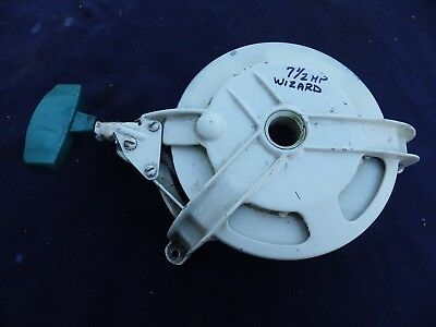 Pull Starter Assembly from 1962 Wizard 7.5 HP Mod MLM6908C by McCulloch