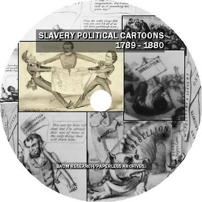 Slavery Political Cartoons: 1789 - 1880
