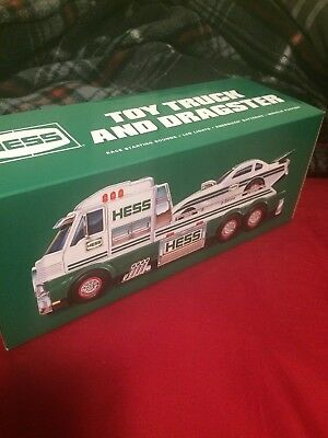 2016 Hess Toy Truck and Dragster - Never Opened With Original Box