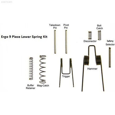 9F26 for AR15/M16/M4 Shooting Range Replacement GSS Lower Parts Kit Spring Kit