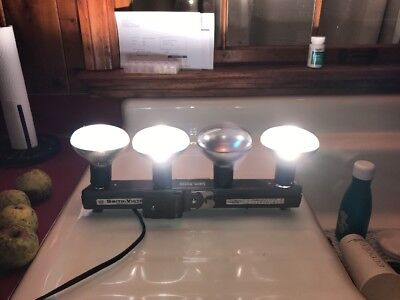 Vintage Smith-Victor L43 Photography Lighting Bar Dual Switches(421)