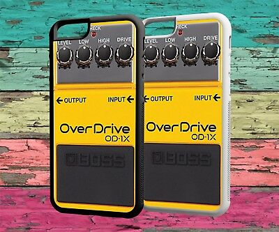 Phone Case Guitar Over drive Effects Rubber - Hard - Protective Back For Iphone