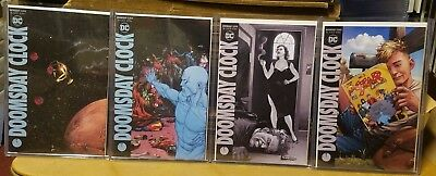Doomsday Clock #9 and 10 (of 12) A&B Cover variant Sets SHIPS FREE Watchmen